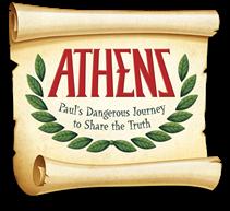 Banner saying 'Athens'